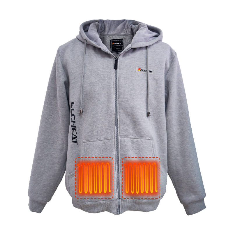 Heated Full zip Hoodie