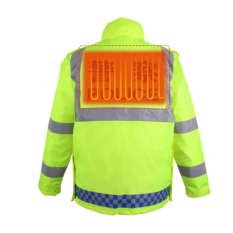 EH-JAC-063-Electric  Heated Hi-Vis Jacket