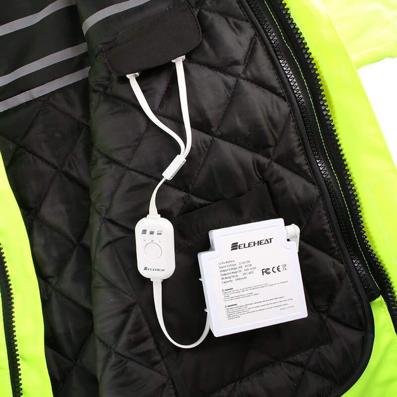EH-JAC-063-Electric  Heated Hi-Vis Jacket2